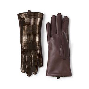 NWT! Lands End EZ Touch Gloves